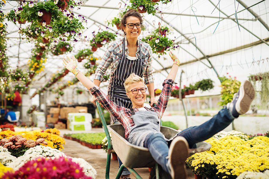 Header - Happy Florist Business Owners