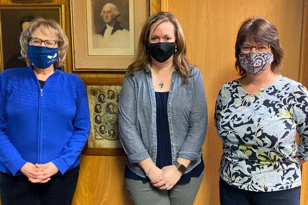 About Our Agency - Acct Team Members with Their Masks On