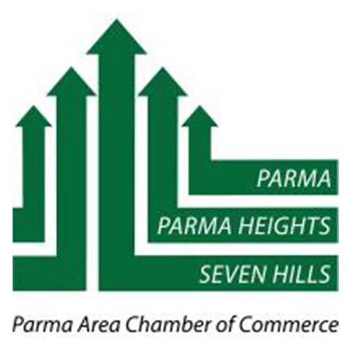 Parma Heights Seven Hills Parma Area Chamber of Commerce Logo