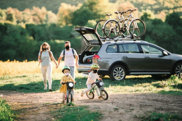 Family Car Bicycles Blank 2021