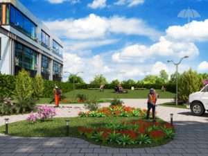 Clickable Coverage - Landscaping