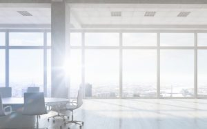 Family Office Insurance - Header - Beautiful Bright Sunlight Shining Into A Large Office