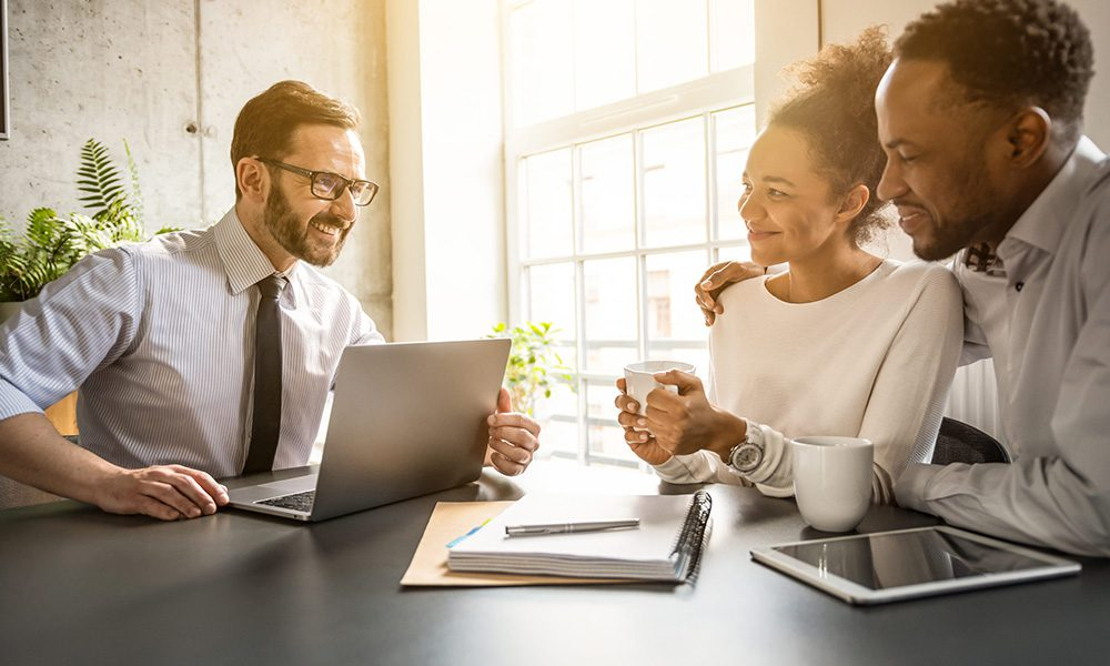 Blog - The Life and Times of Insurance Agents at RS Semler Insurance Part 2 - Couple Consulting With An Agent