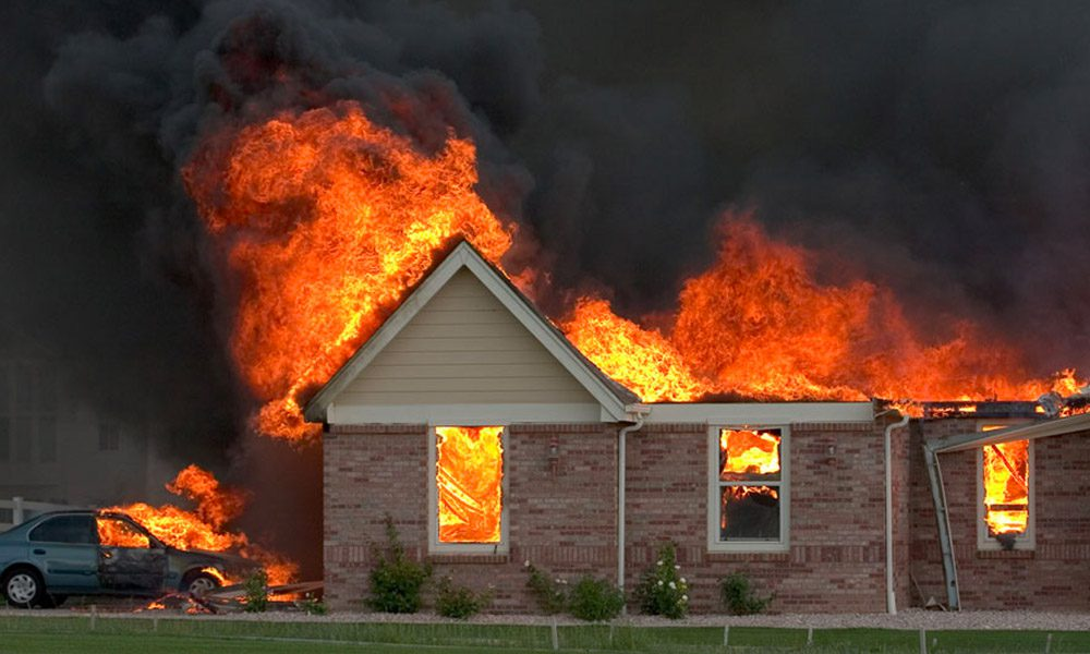 Blog - Your Home Just Went Through a Catastrophe, Now What - House On Fire