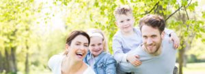 Header - Personal Insurance with Family in the Park