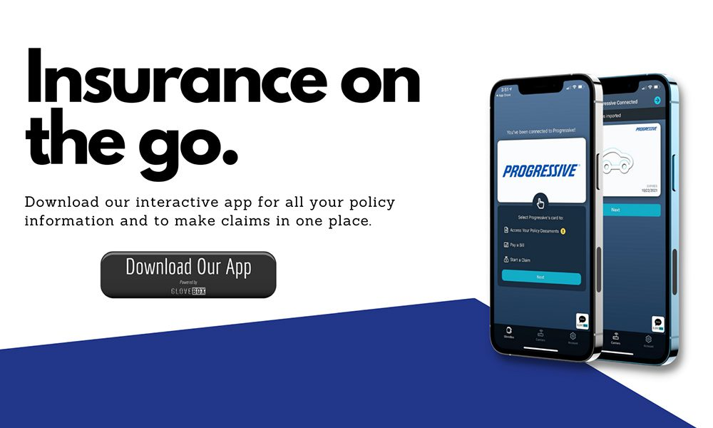 Blog - How to Make an Insurance Claim - IPhone With The GloveBox App Open Showing Insurance On The Go