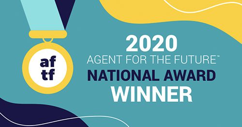 About Us - Bragging Rights - 2020 Agent for the future National Award Winner