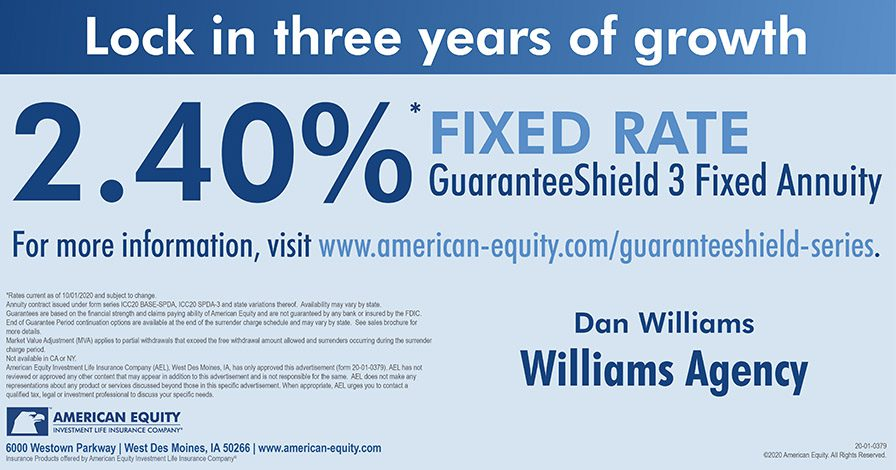Annuities Ad - GuaranteeShield