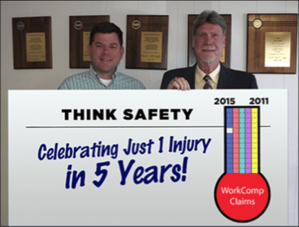 think safety award