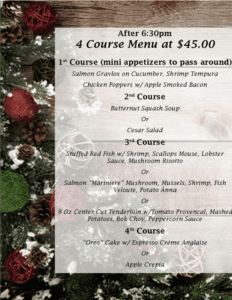 The Grill At Leon Springs Special Menu - Page 2