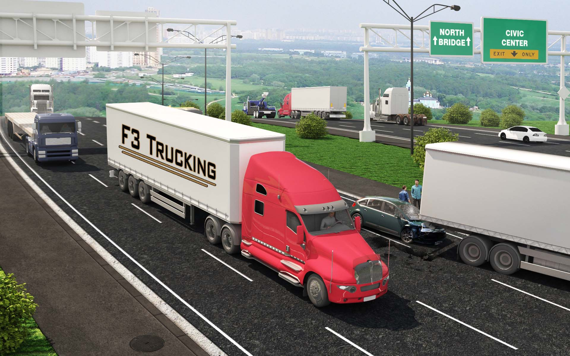 Trucking - Clickable Coverage