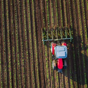 Tractor-in-Field-Aerial