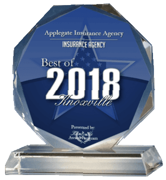 Award - Applegate Insurance Agency - Best of 2018 Knoxville -