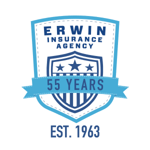 Erwin Insurance - 55 Years Badge