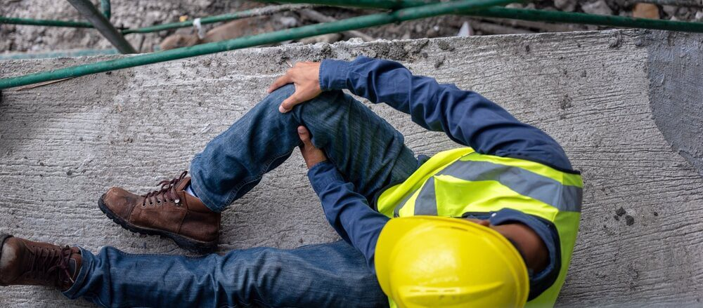 An injured worker in need of workers compensation insurance