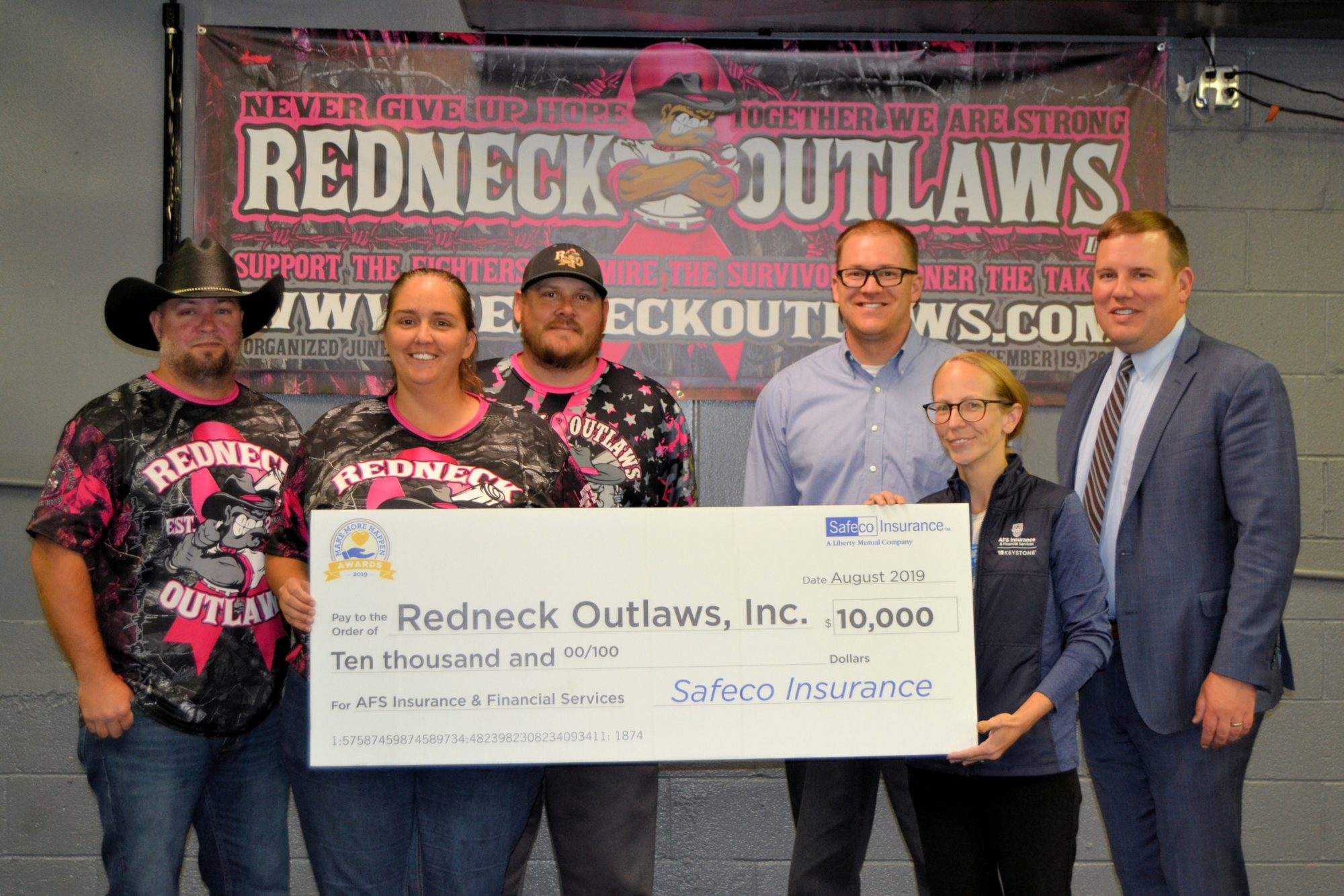 AFS Donates $10,000 to Local Charity