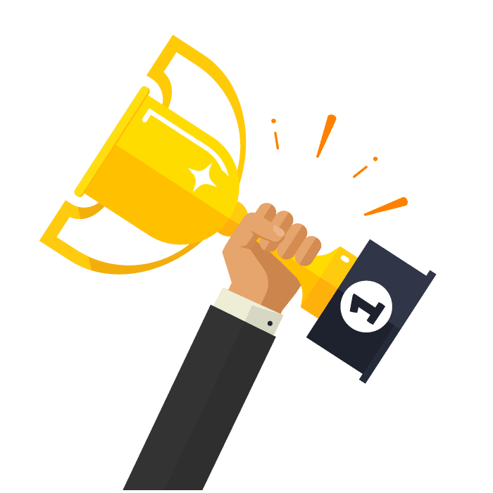 Hand-with-Trophy-Icon