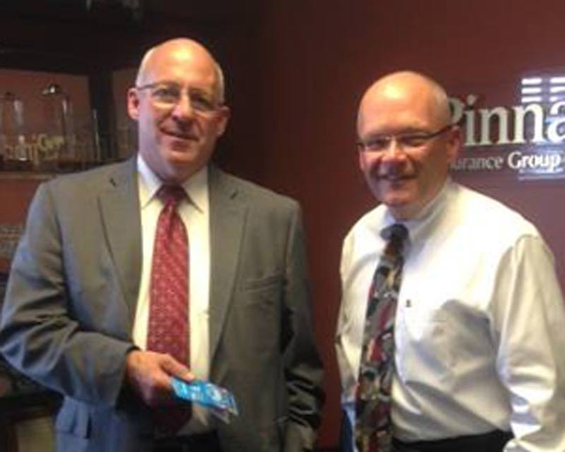 2014-Crown-Point-Q2-Winner Larry Berger of Senior Benefits Counselors