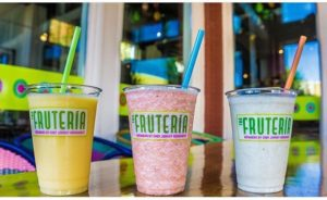 colorful fresh smoothies from the fruteria san antonio