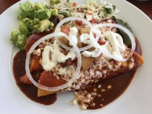 enchiladas from roasarios mexican cafe