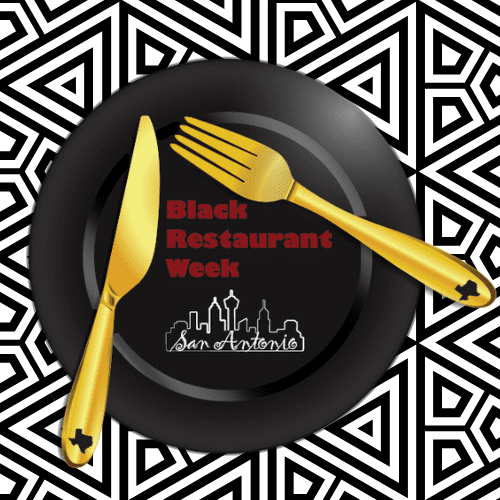 black restaurant week in san antonio logo