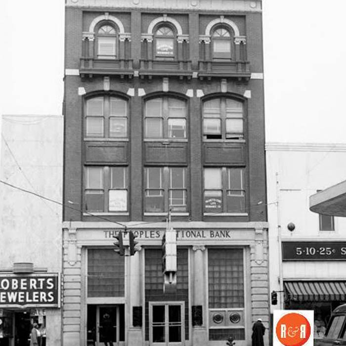 Our History - Peoples First Insurance Older Office
