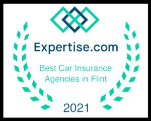 Homepage - Expertise.com Best Car Insurance Agencies in Flint 2021 Award with Brown Boarder