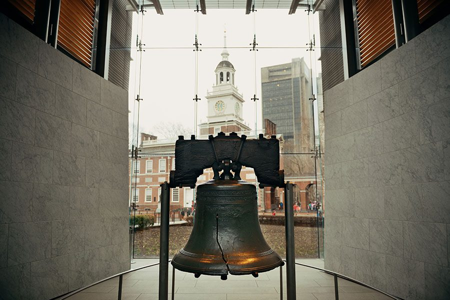 About Our Agency - View of Liberty Bell in Historic Philadelphia