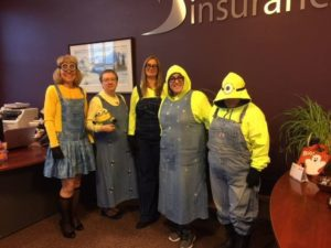Blog- Halloween Costumes Dressed As Minions