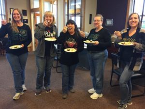 Blog - Team With Slices Of Cake