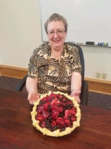 Blog - Marla with Fruit Pie