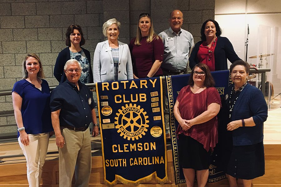 Contact - Turner Agency Team At The Rotary Club In Clemson South Carolina