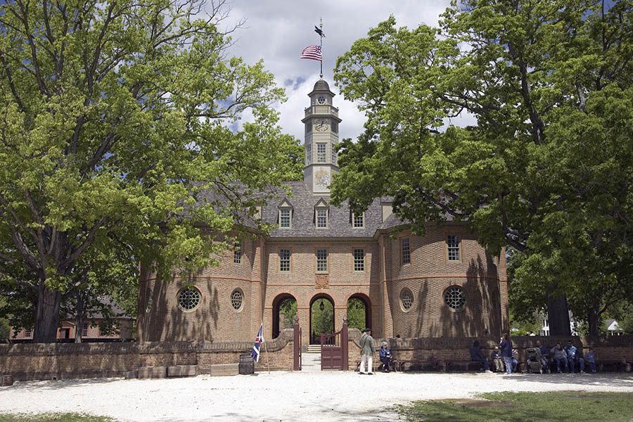 Contact - The Capitol Building of Colonial Williamsburg, Virginia