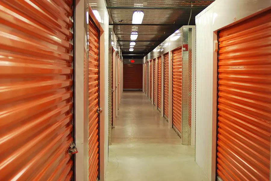 Self-Storage-Facility-Insurance-View-Inside-Storage-Unit-Hallway