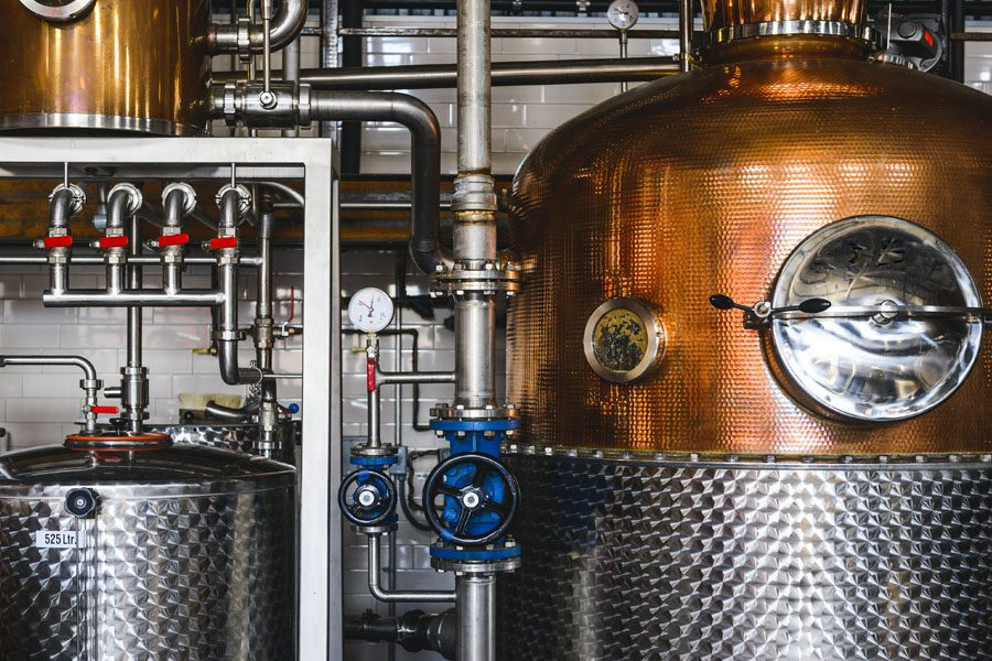 Brewery Insurance - Brewing Machinery at a Brewery