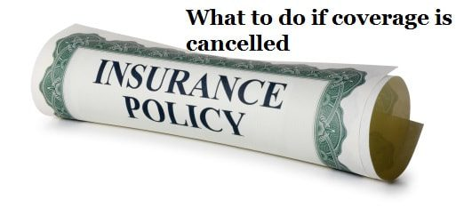 Cancelled homeowners insurance