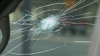 Rock hit your windshield