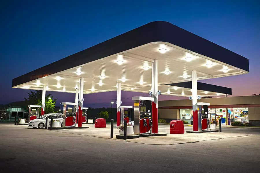 Gas-Station-Insurance-Night-View-of-a-Gas-Station-with-Cars-Pumping-Gas