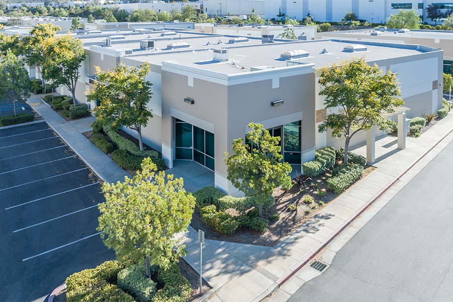 Business Insurance - View Of New Commercial Building Complex