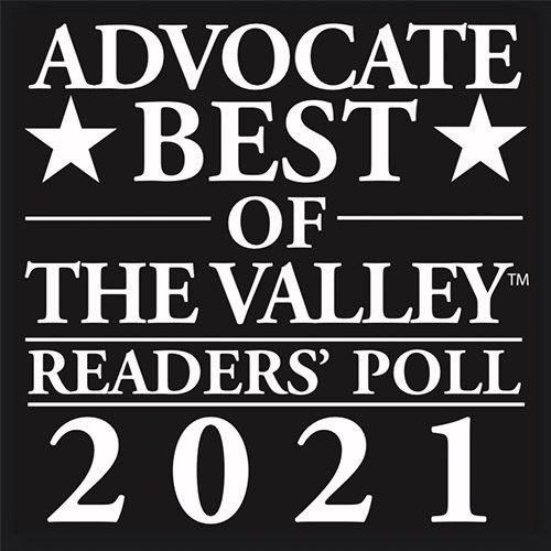 About Our Agency - Advocate Best of The Valley Readers' Poll 2021