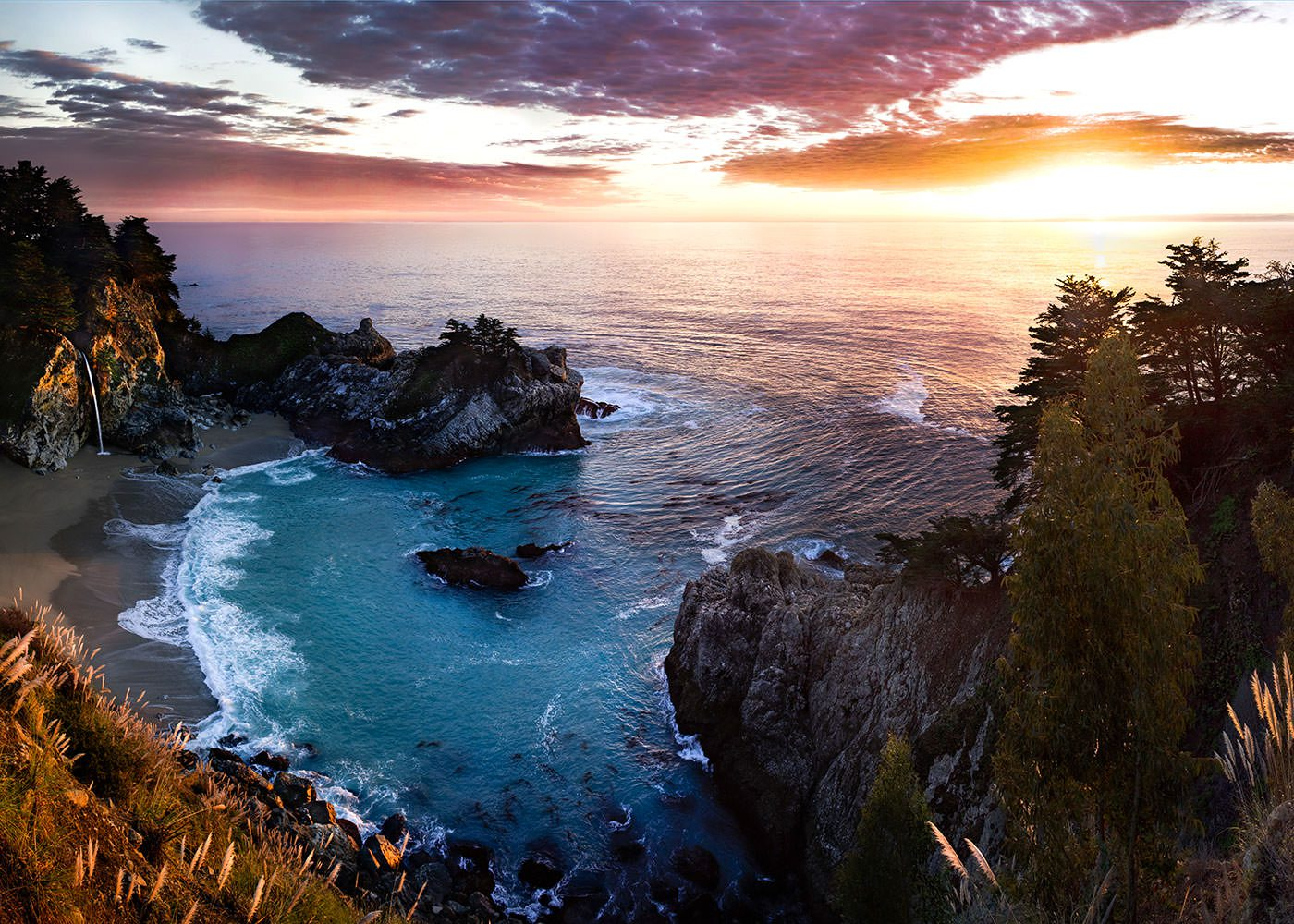 California-Ocean-Sunset