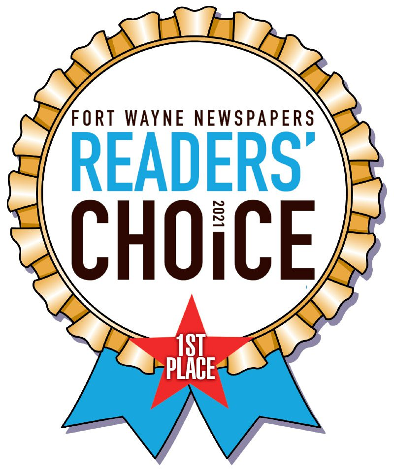 Awards - Fort Wayne Newspapers Readers Choice 1st Place 2021 Badge