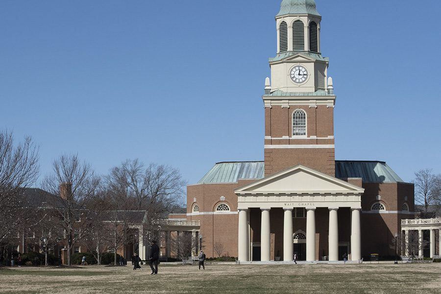 Wake Forest NC Insurance - Wake Forest University On A Brisk Sunny Day