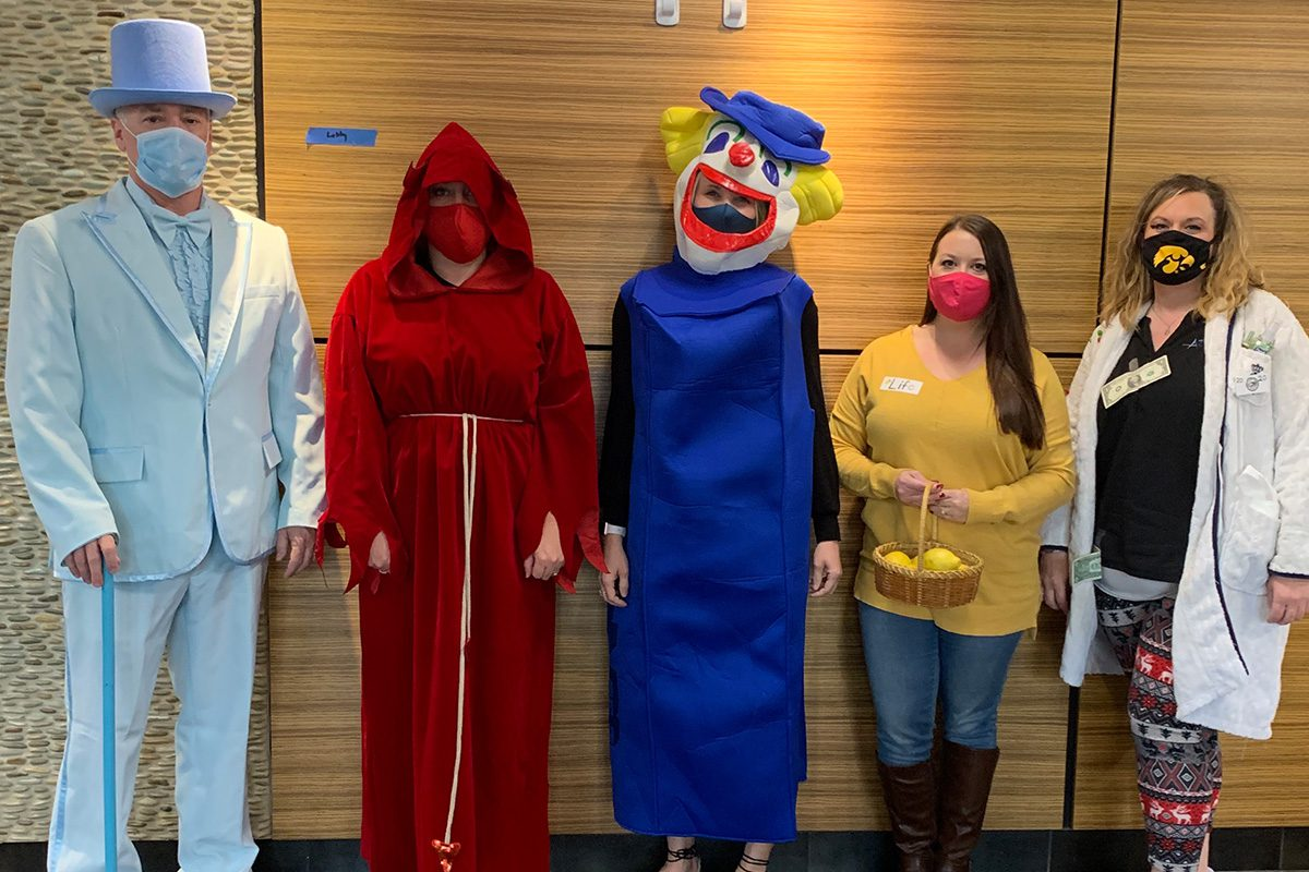 Culture and Careers - The Accel Group Dressed Up For Halloween