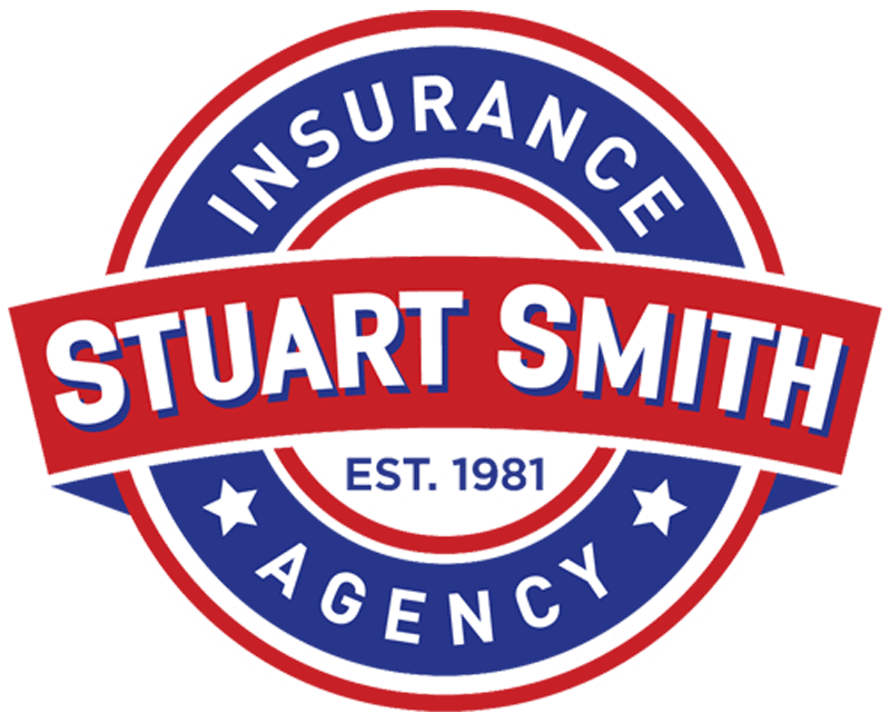 Stuart Smith Insurance Agency - Logo 800 White Outline