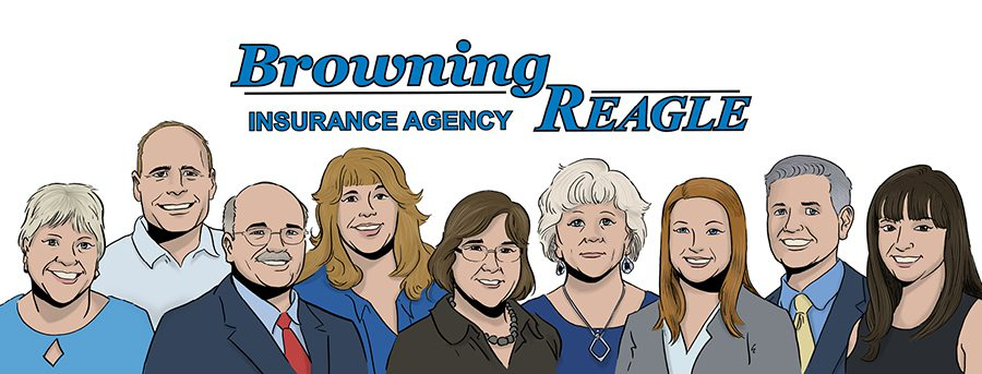 Meet Our Team - Browning Reagle Team Illustration