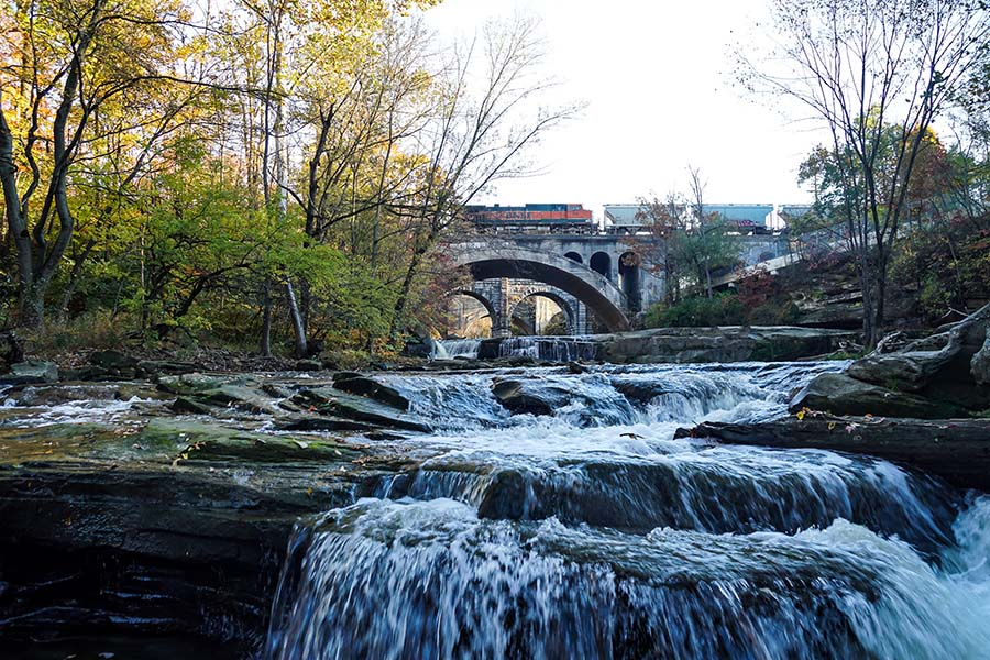 About Our Agency - Scenic Bridge and Waterfalls in Berea Ohio