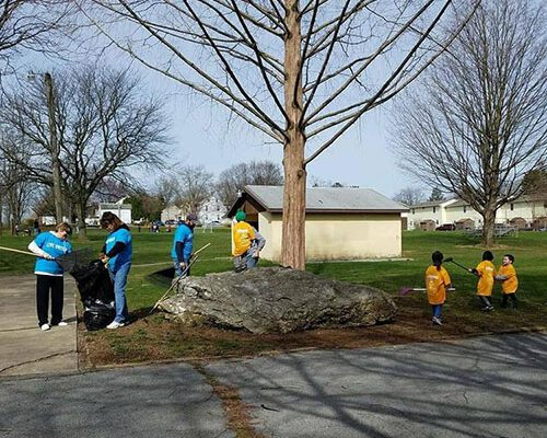 Community - Strickler Insurance Doing Community Cleanup