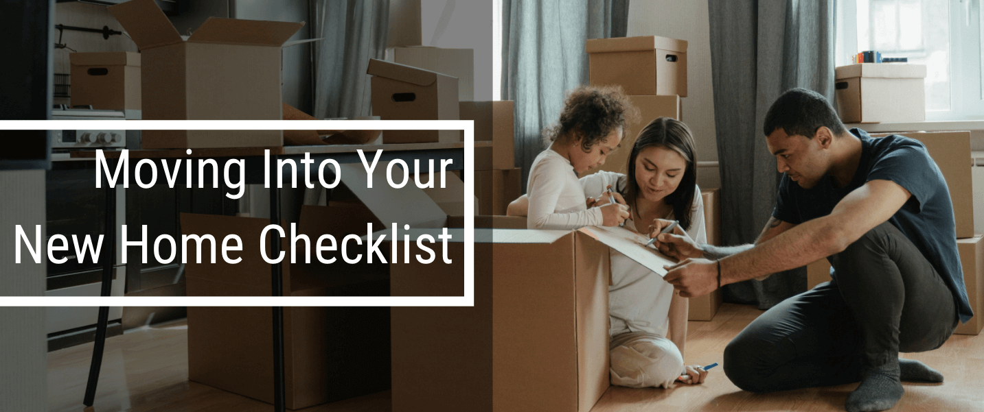 Moving into your new Pennsylvania home checklist.