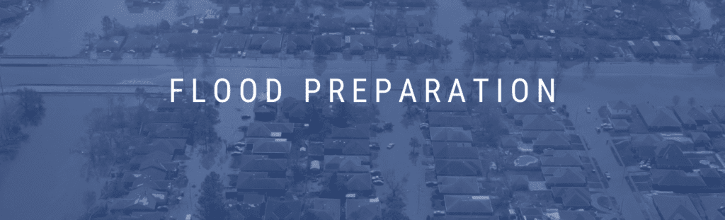 Flood preparation and flood insurance knowledge.
